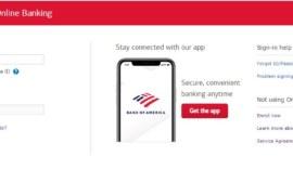 Bank of America Online Banking