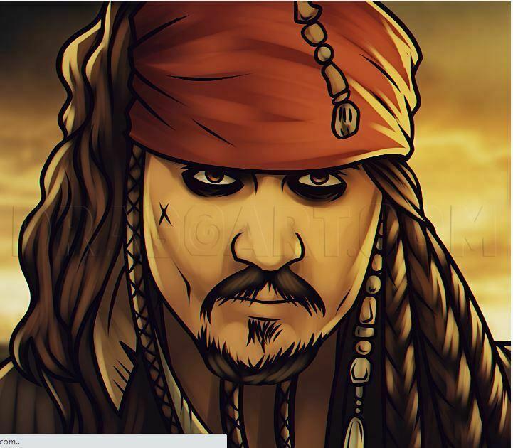 Jack Sparrow Beard