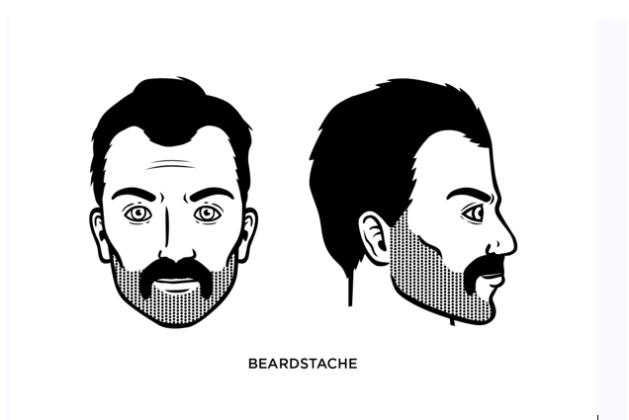 The Beardstache style: What is Beardstache, how to Grow Beardstache, Beardstache Guide – How to Shape a Chevron Moustache in 2020
