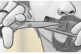 Best way to trim beard – Best way to shape beard: The secret to trimming your beard and mustache  (a simple and illustrated guide)